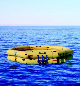 FACOM Commerical Type One Life Raft
